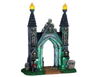 Halloween Town (Lemax Cemetery Gate, Spooky-Town, Halloween, Gruseldorf)