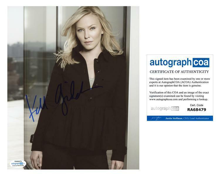 "Kelli Giddish ""Law & Order: SVU"" AUTOGRAPH Signed 8x10 Photo ACOA"
