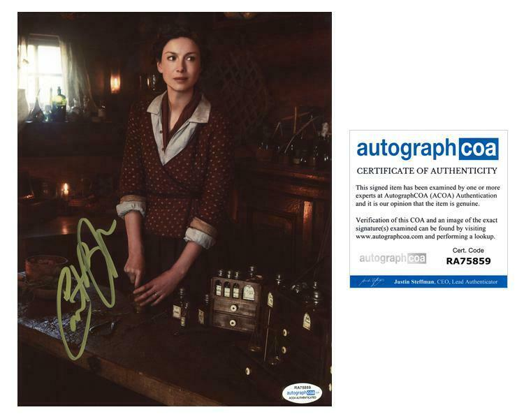 "Caitriona Balfe ""Outlander"" AUTOGRAPH Signed 8x10 Photo F ACOA"