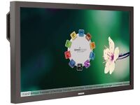 "Phillips 42"" touchscreen monitor"