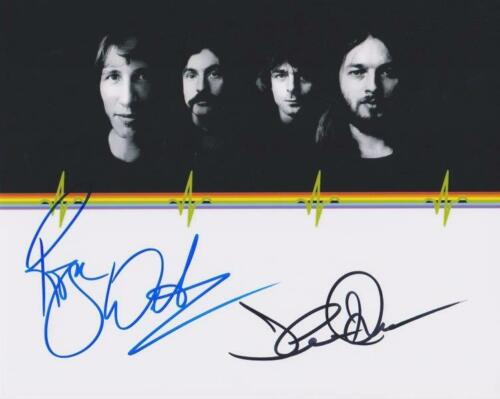 REPRINT - PINK FLOYD Roger Waters - David Gilmour Signed 8 x 10 Photo Print RP