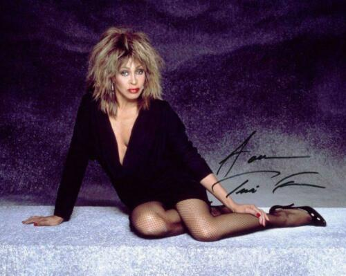 REPRINT - TINA TURNER Hot Sexy Signed 8 x 10 Glossy Photo Poster RP Man Cave