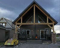 CottageClub Custom Built Home 25 min from Calgary at Ghost Lake
