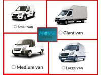 MAN AND VAN 5 LARGE van & 10 man Available 24/7 Call best price ALL IN UK
