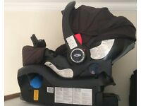 Gracco infant car seat up to 13kg + base