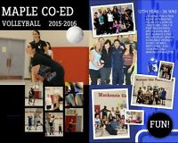 Maple Co-ed recreational Volleyball