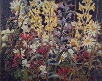 "Tom Thomson ""Wildflowers"" panel"