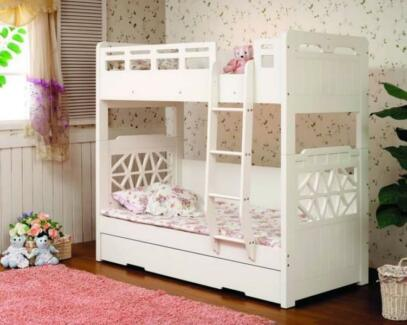 Candy Bunk Bed - Ivory White (6 Avaiable In Package) St Peters Marrickville Area Preview