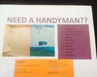 ASAP HANDYMAN SERVICES