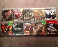 20 PS3 Games For Sale