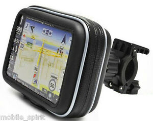 waterproof motorcycle atvs snowmobiles gps case mount for
