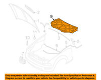 FORD OEM 2005-2009 Mustang GT Hood-Insulation 7R3Z-16738-F