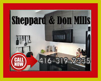 **** REDUCED **** CHIC & NEW *** 2 Bedrm + 2 Bath + Pvt Laundry