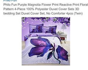 Girls twin bedding/duvet cover