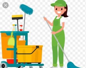 Evenings and weekends cleaning available.