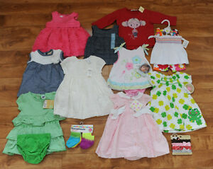 40 items - Baby Girl size 0 - 6 months
