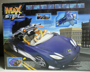 Max Steel MX48 Turbo Vehicle and Rocket Blaster Weapon ...