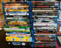 Assorted Blu-rays & DVDs -  $5 each ($3 dvds)