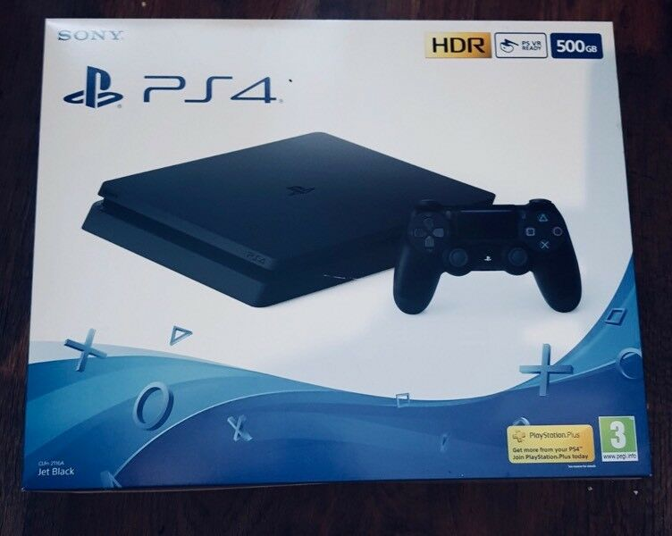PlayStation 4 - 500GB Brand New & Sealed One Controller