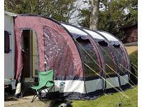 Sunn camp 390 ultima plus caravan awning