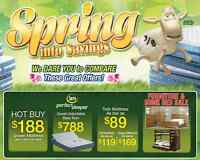 This weekend save like you cant believe on serta and other Canad
