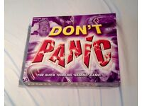 Don't Panic The Quick Thinking 'Naming' Game by Drumond Park 2003 Complete VGC.
