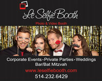 Le Selfie Booth!!  Montreal's Favorite Photo & Video Booth!