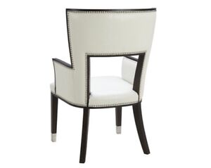 2 Ivory occasional chairs