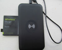 WIRELESS CHARGER BATTERY AND ADAPTER FOR S3