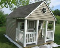 Playhouses for your Backyard – Full Size Man-Door