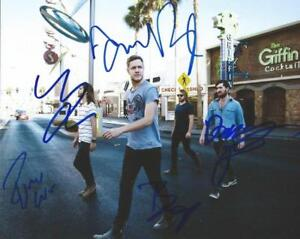 REPRINT - IMAGINE DRAGONS Autographed Signed 8 x 10 Photo Poster