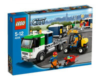Lego City 4206 Recycling Truck Retired Product