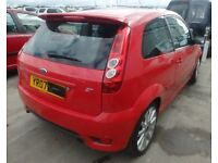 2007 Ford Fiesta ST 70k miles red with C/C leather etc