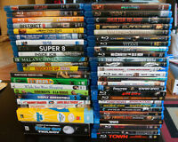 Assorted Blu-rays & DVDs