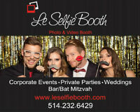 Le Selfie Booth / Photo Booth / Video Booth / Save 100$