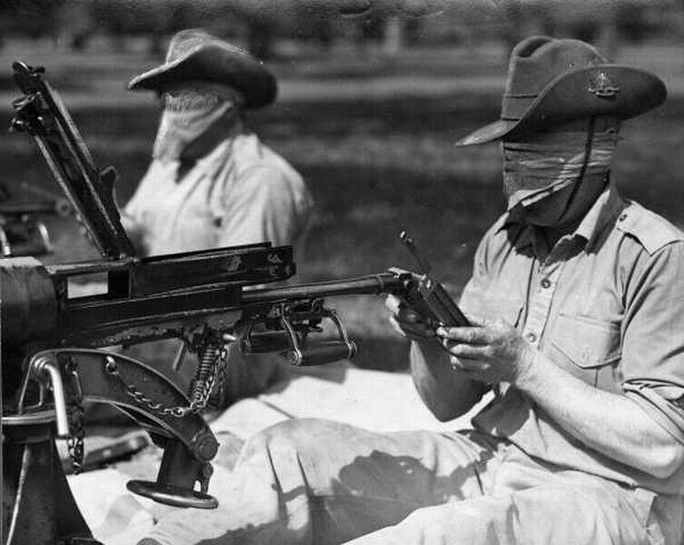 WW2  Photo Australian Troops Training Australia WWII  World War Two ANZAC