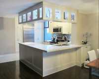 Huge, Beautifully Renovated, 2 Bedroom Unit - On Subway for Rent