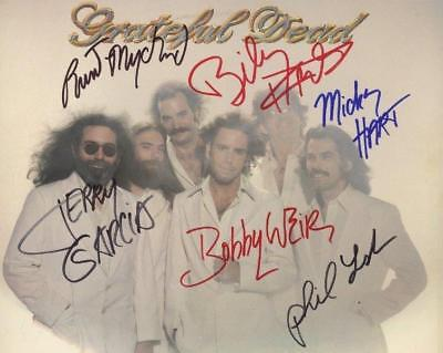 REPRINT - GRATEFUL DEAD Jerry Garcia Album Signed  8 x 10 Glossy Photo Poster RP