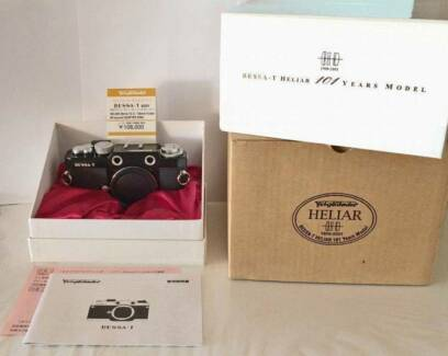 Voigtlander Bessa T Limited Edition (Leica M) *As New in Box* Sydney City Inner Sydney Preview