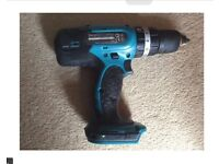 MAKITA 18 VOLT CORDLESS DRILL LITHIUM-ION BATTERY BODY ONLY FOR SALE , VERY GOOD CONDITION
