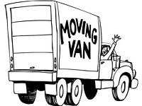 Removals house moves man and a van two men and truck deliveries