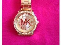 Wow. Brand new MK watch rose gold
