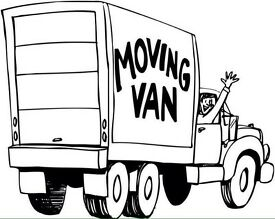 House removals , man with a van services house moves furniture removals