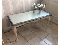 UPCYCLED VINTAGE SHABBY CHIC COFFEE TABLE
