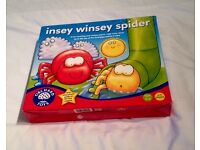 Orchard Toys Insey Winsey Spider Game Of Counting And Shapes. Complete And VGC.