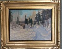 Tom Stone CANADIAN ARTIST (1894-1978) oil painting