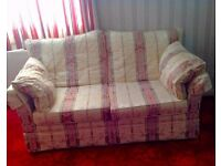 2 seater sofa and chair excellent clean condition LIKE NEW