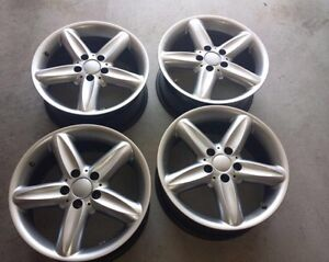 """SET OF 4 17"""" ALLOY RIMS FOR $420!! GREAT DEAL!!"""