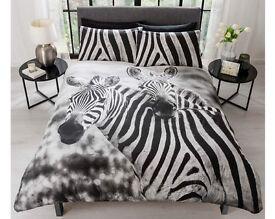 Double Zebra Bedding