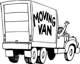 Removal van house moves man and a van two men and a van man with a big van